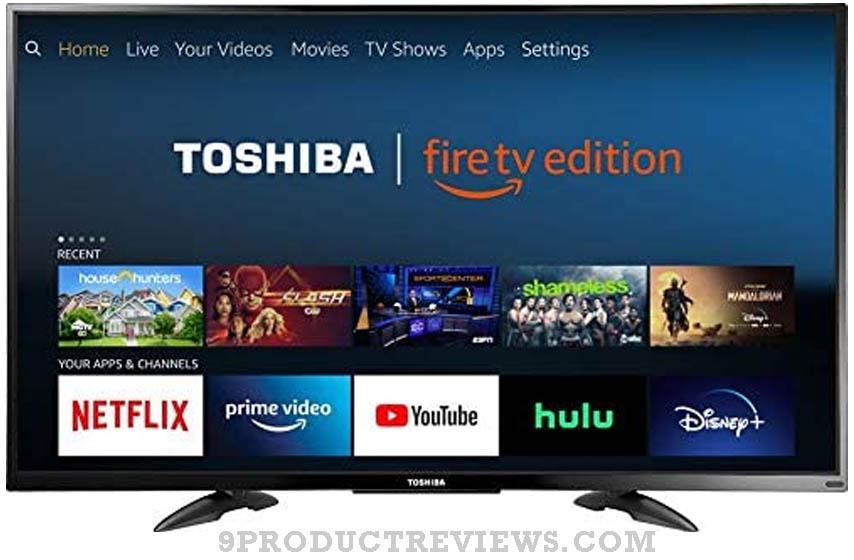 TOSHIBA 43-inch 4K Ultra HD Smart LED TV