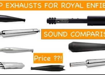 10 Best Royal Enfield Silencers Good Bass & Performance 2020