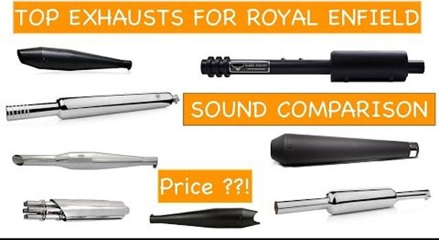 best royal enfield silencer