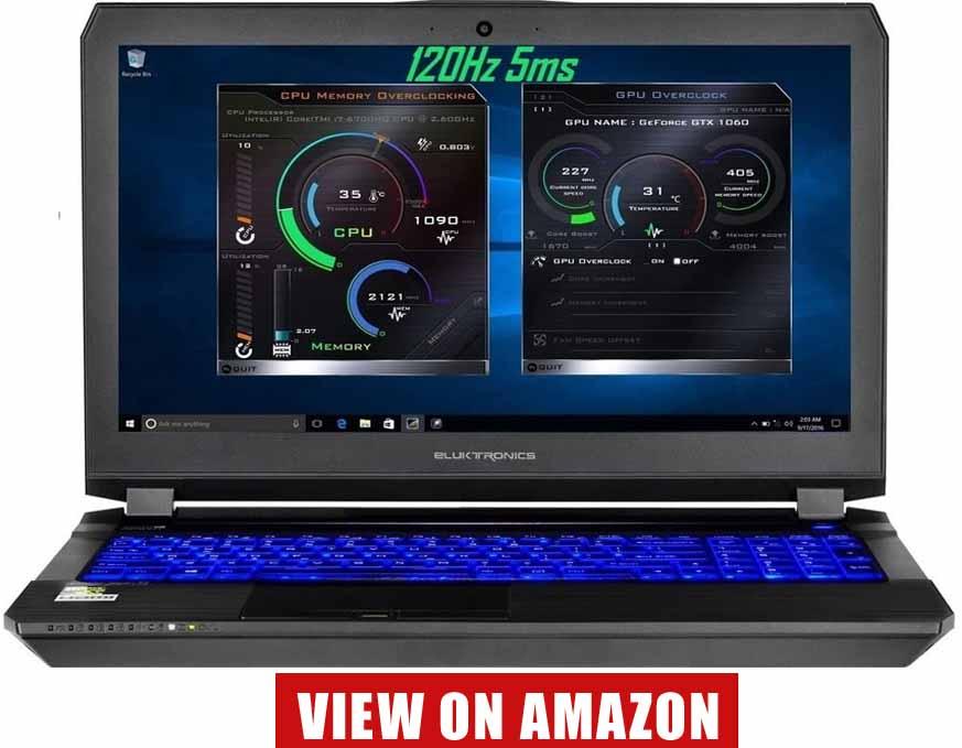 Eluktronics Pro-X P650HS-G VR