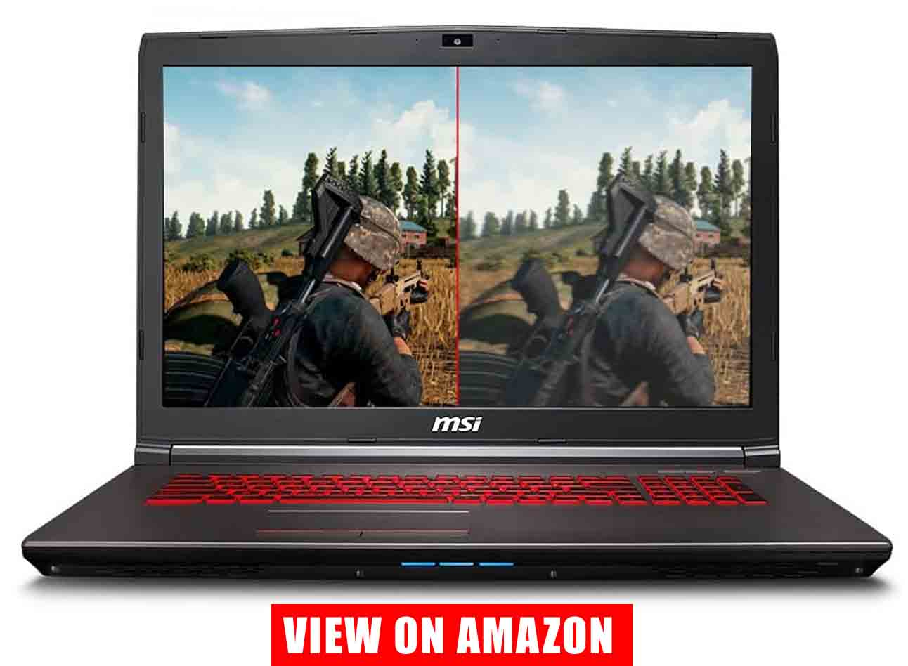 MSI GV72 Thin and Light Gaming Laptop