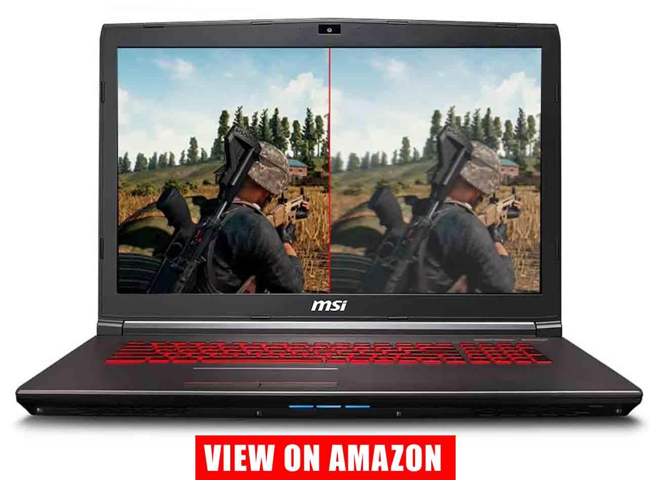 MSI GV72 Thin and Light Gaming Laptop