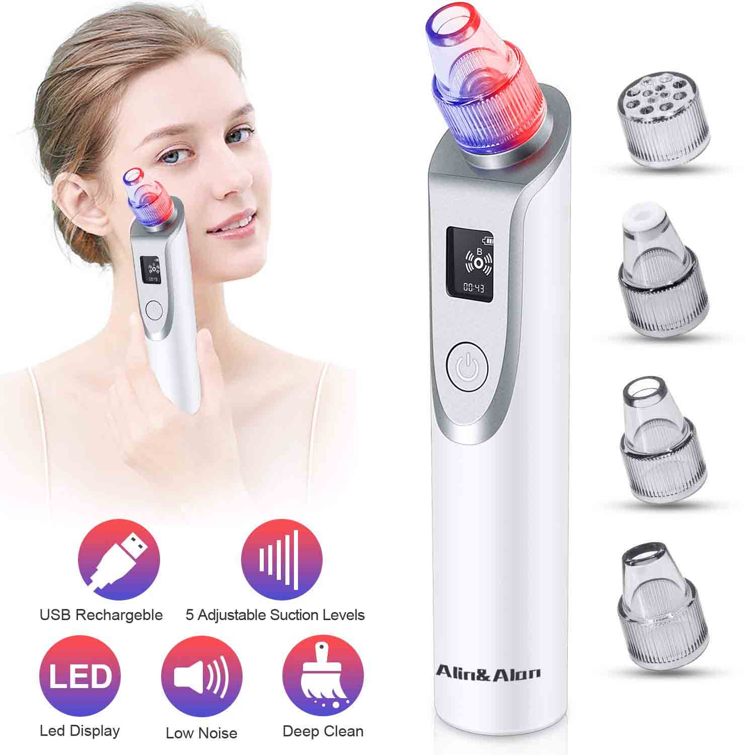 Pore Cleaner Electric Blackhead Suction