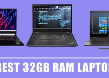 8 Best Laptop with 32gb RAM with Dedicated GPU in 2020