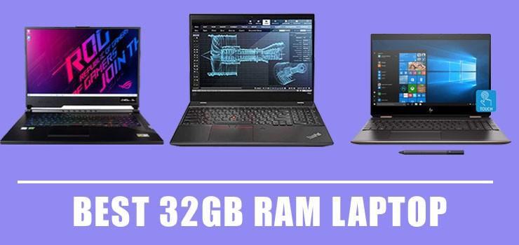 best 32gb ram laptop