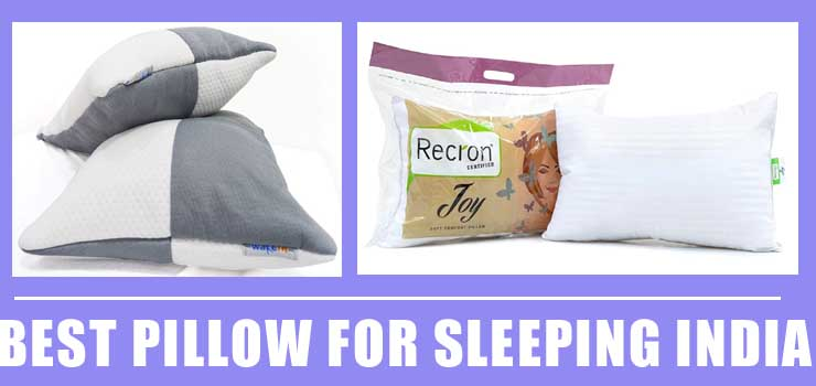 best pillow for sleeping india