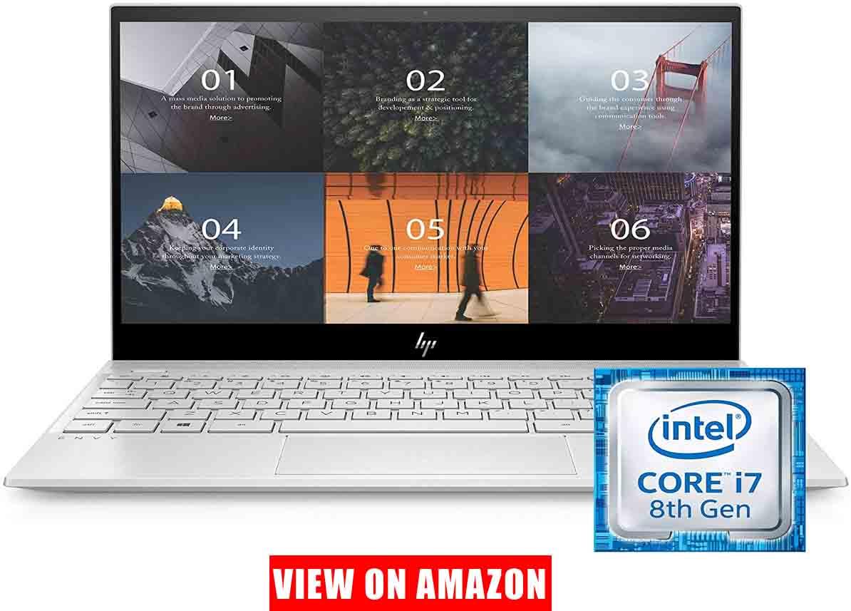 HP ENVY 13.3 Inch Thin Laptop