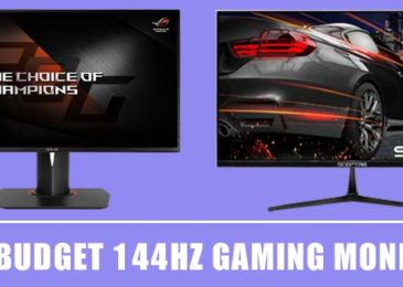 6 Best Budget Gaming Monitor 144hz 1MS – [New List 2020]