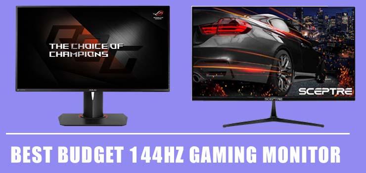 best budget gaming monitor 144hz
