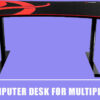 Best Gaming Computer Desk for Multiple Monitors – Reviews 2020