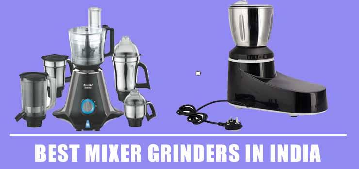 Best Mixer Grinders India