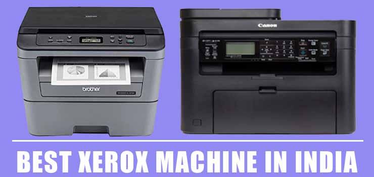 Best Xerox Machine in India