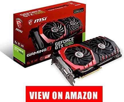 MSI GeForce GTX 1080 8GB GDDR5X