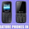 Best Feature Phones In India 2020 – Latest & New Mobile Phones List