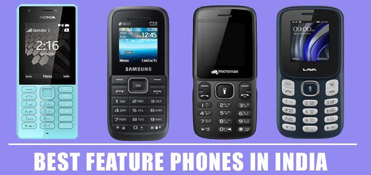 Best Feature Phones In India