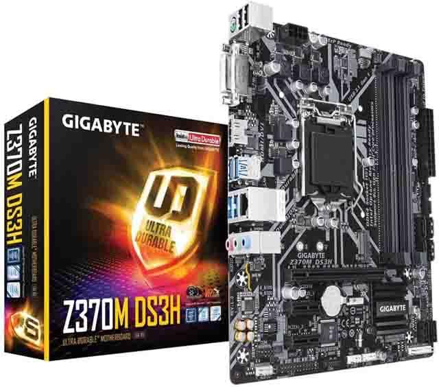 Gigabyte Z370 DS3H